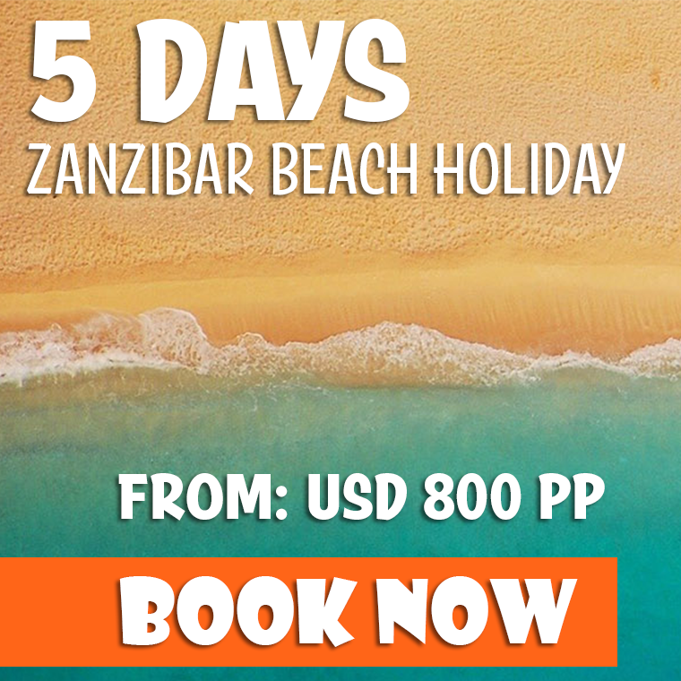 5 Days Zanzibar Beach Safari Offer