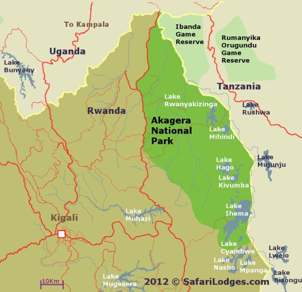 Akagera Map