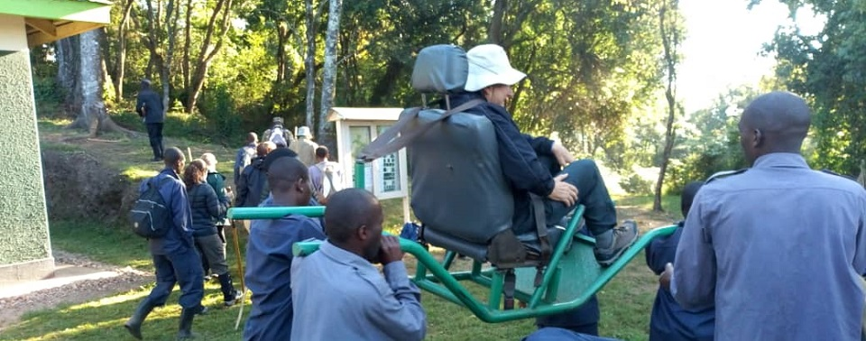 Gorilla Trekking for Disabled People